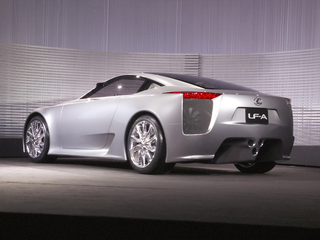 2019 Lexus LF A Concept photo - 2
