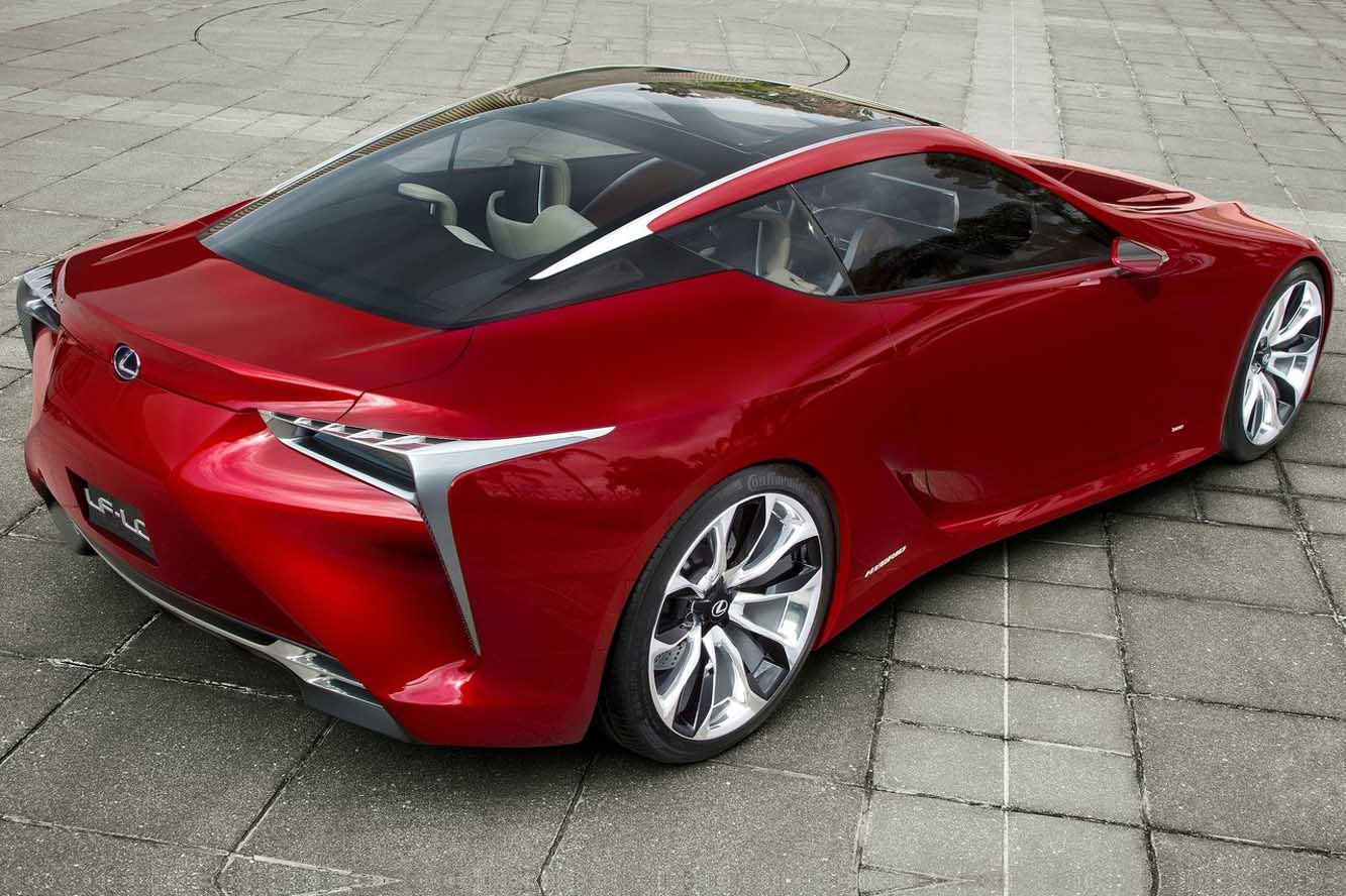 2019 Lexus LF A Concept photo - 4