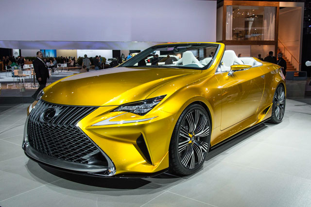 2019 Lexus LF C2 Concept photo - 1