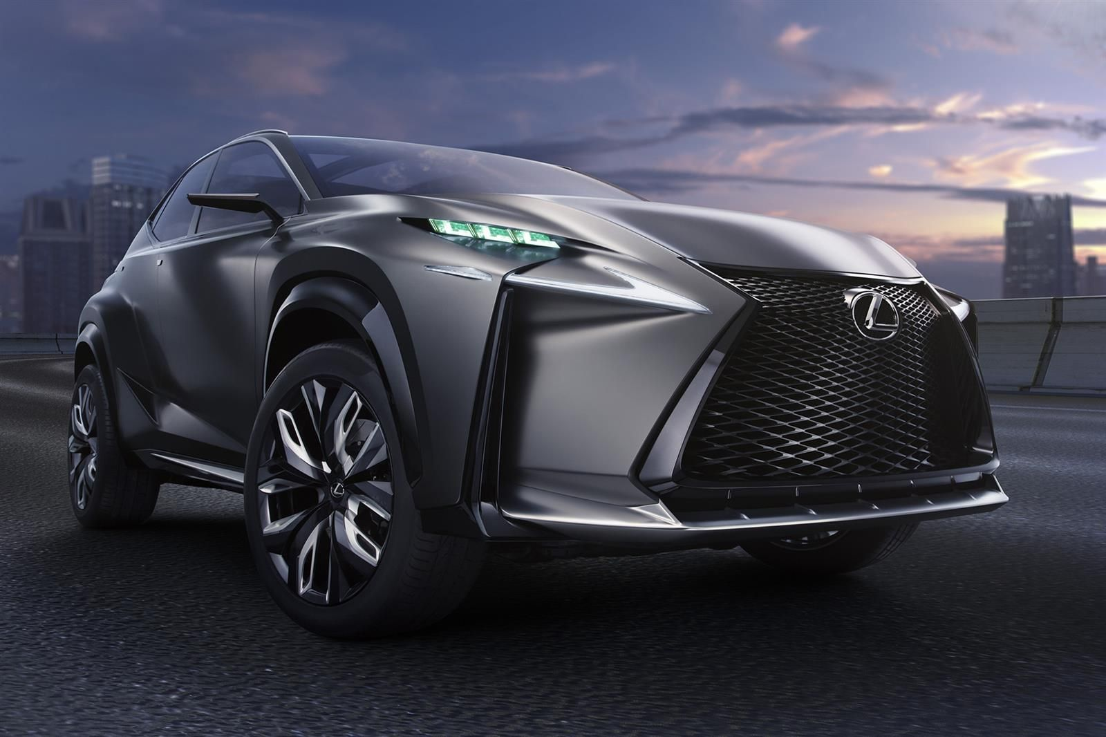 2019 Lexus LF NX Concept photo - 4