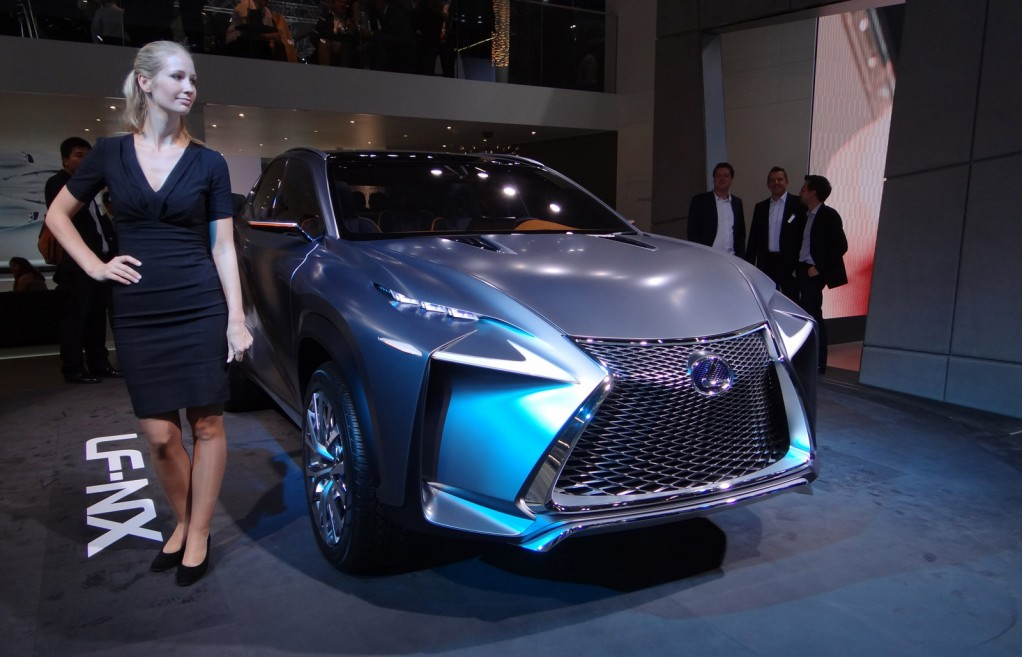 2019 Lexus LF NX Concept photo - 5