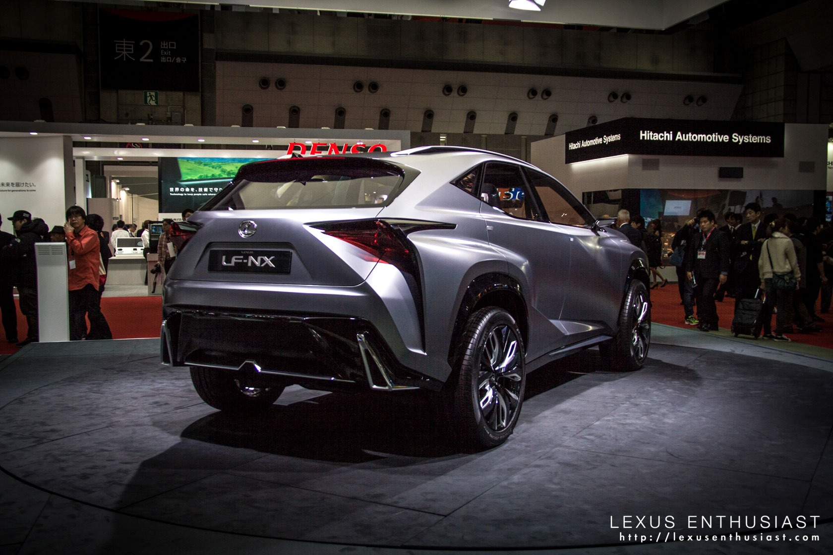 2019 Lexus LF NX Concept photo - 6