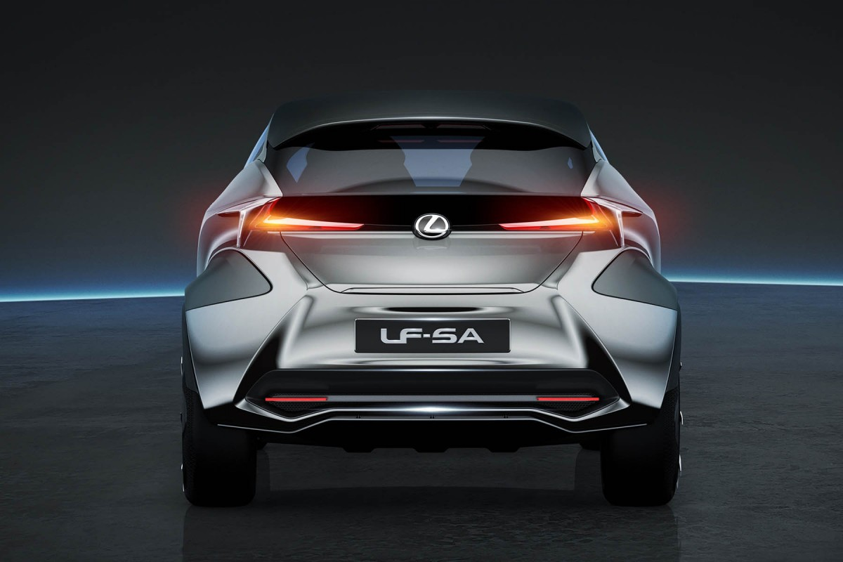 2019 Lexus LF SA Concept photo - 3