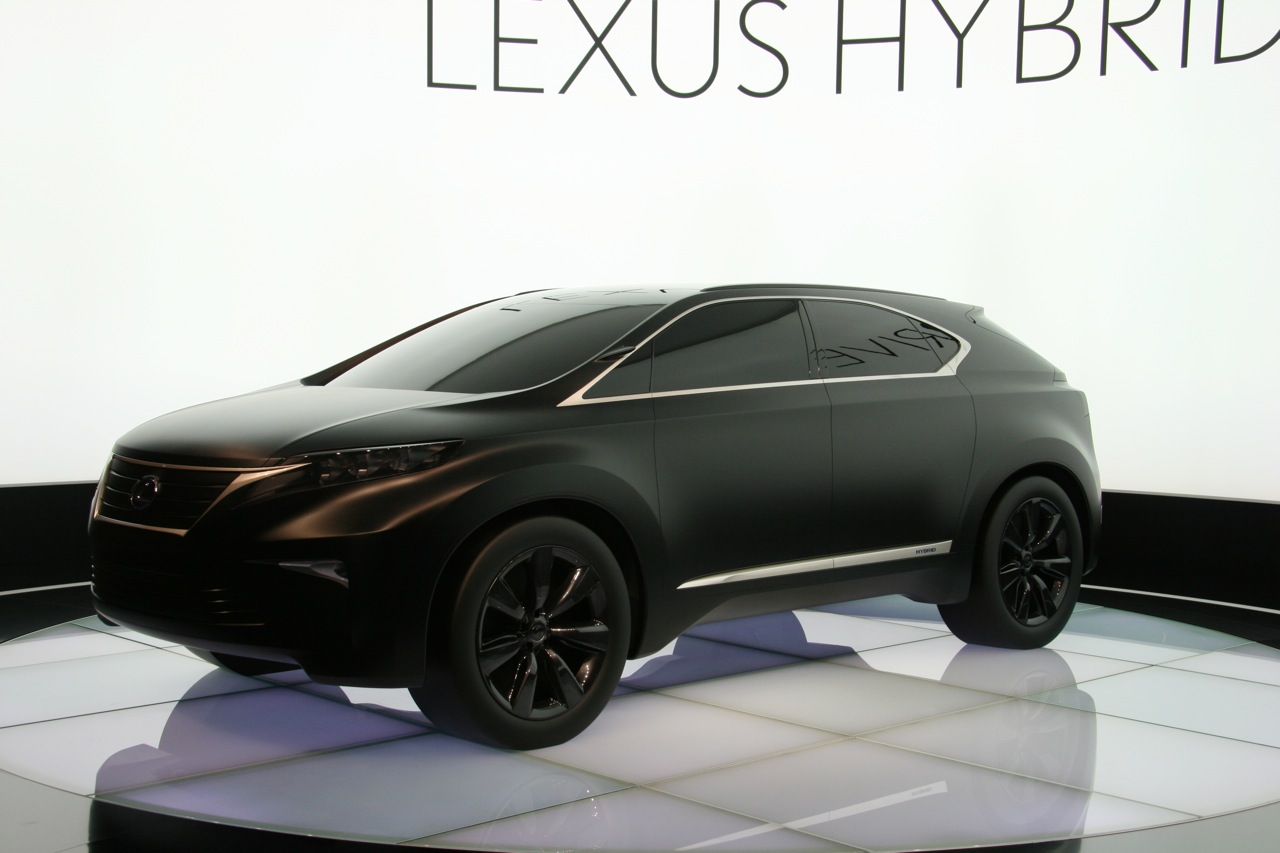 2019 Lexus LF Xh Concept photo - 1