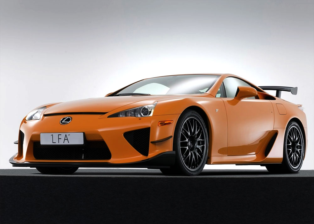 2019 Lexus LFA Nurburgring Package photo - 2