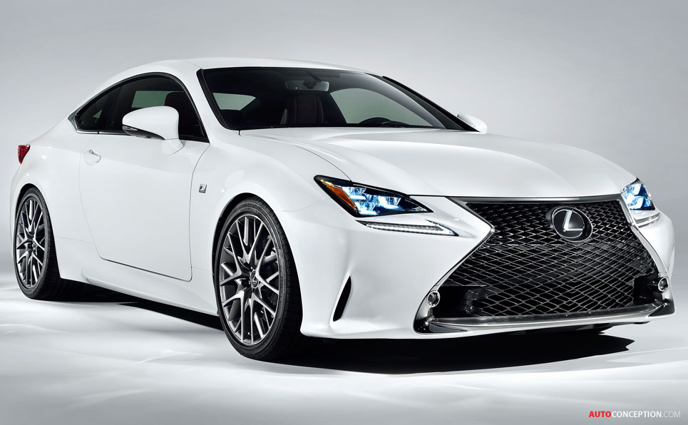 2019 Lexus RC F photo - 3