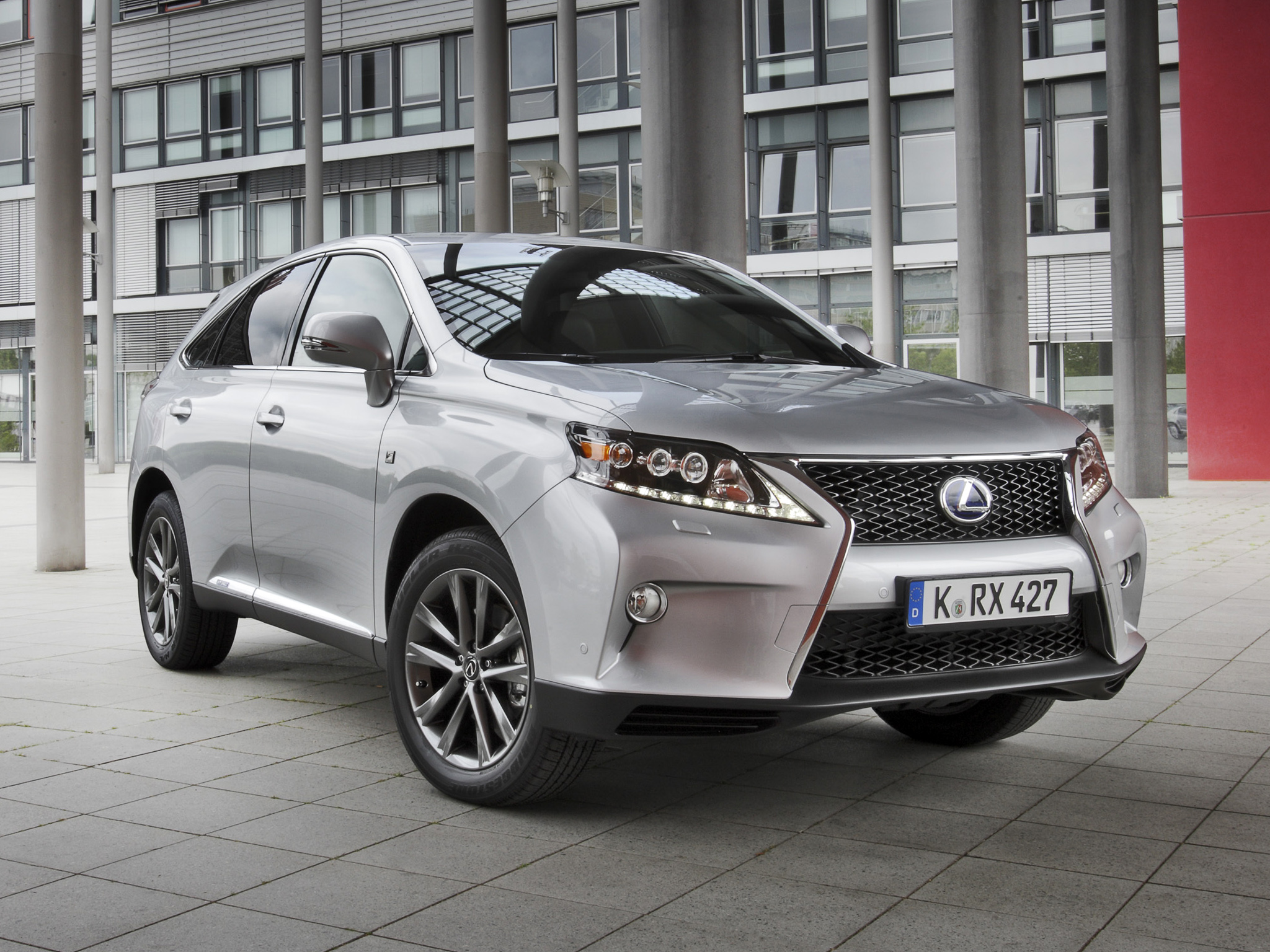 2019 Lexus RX 450h F Sport photo - 5