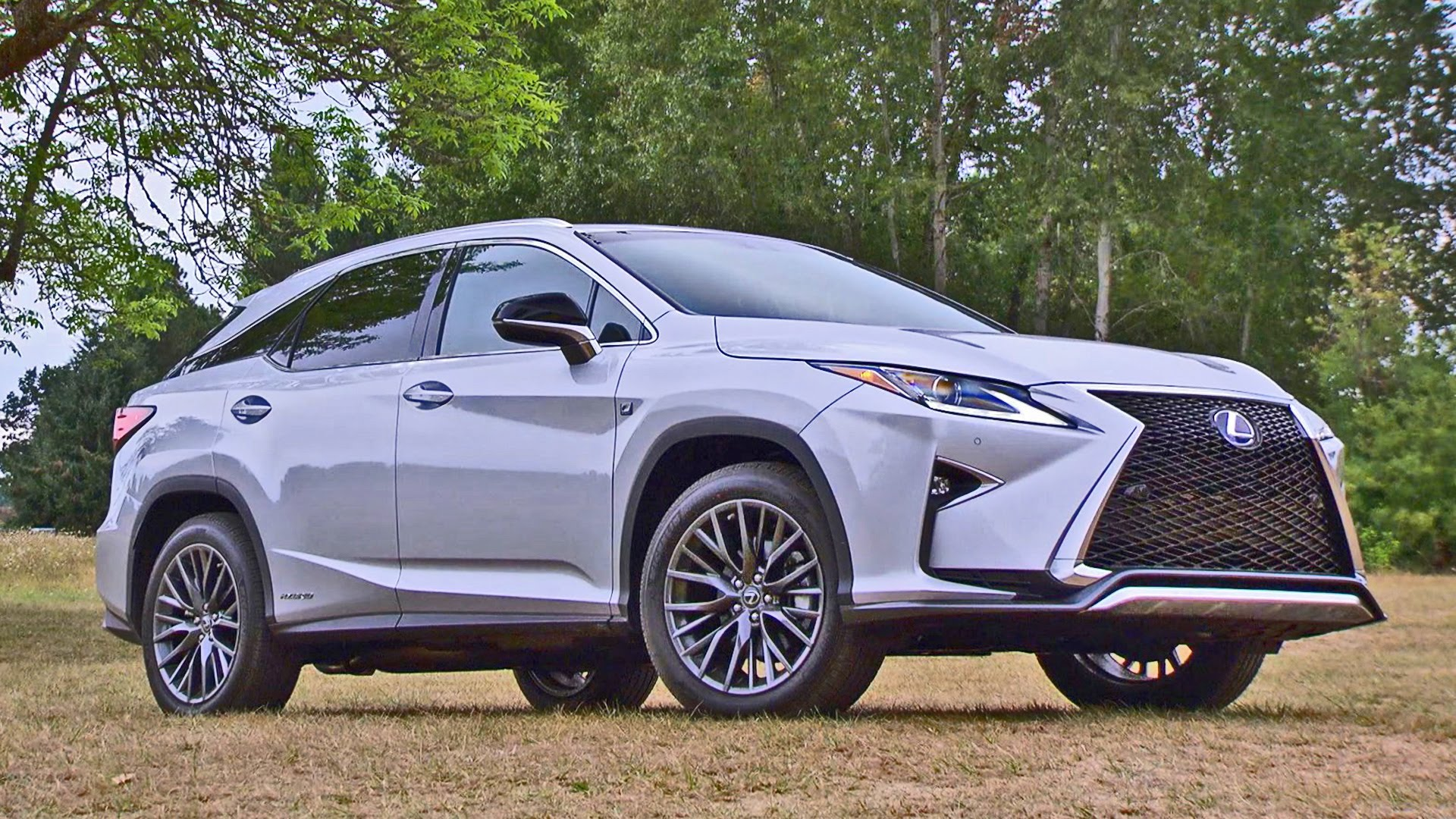 2019 Lexus RX 450h F Sport Car Photos Catalog 2019