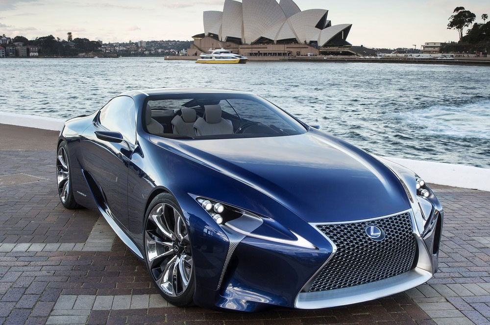 2019 Lexus Sport Coupe Concept photo - 1
