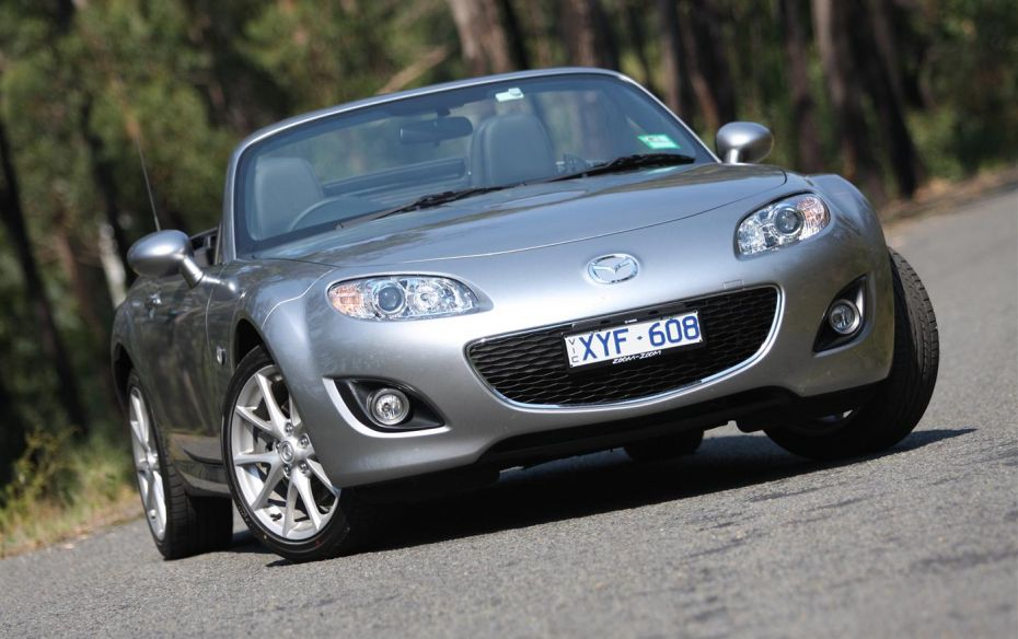 2019 Mazda MX 5 Roadster Coupe photo - 4