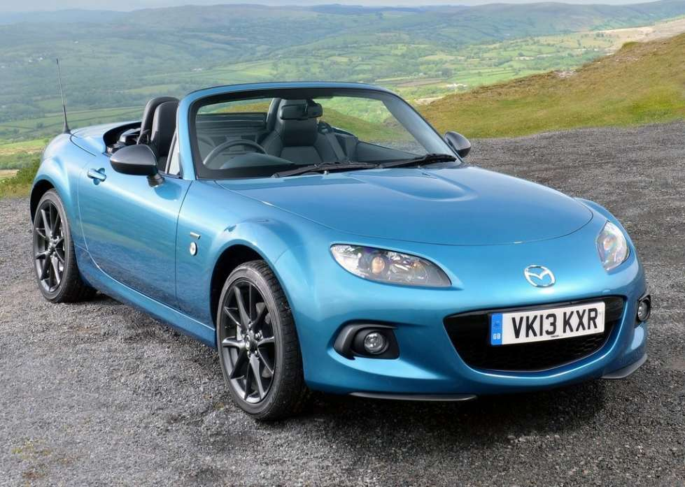 2019 Mazda MX 5 Sport Graphite photo - 2