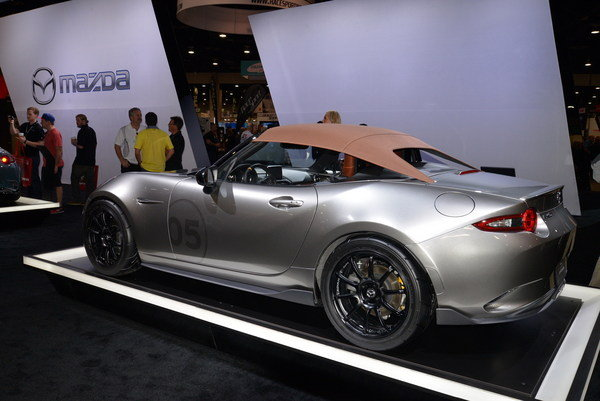 2019 Mazda MX 5 Spyder Concept photo - 1