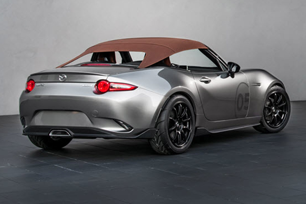 2019 Mazda MX 5 Spyder Concept photo - 4