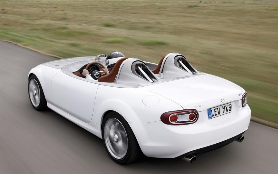 2019 Mazda MX 5 Superlight Concept photo - 5