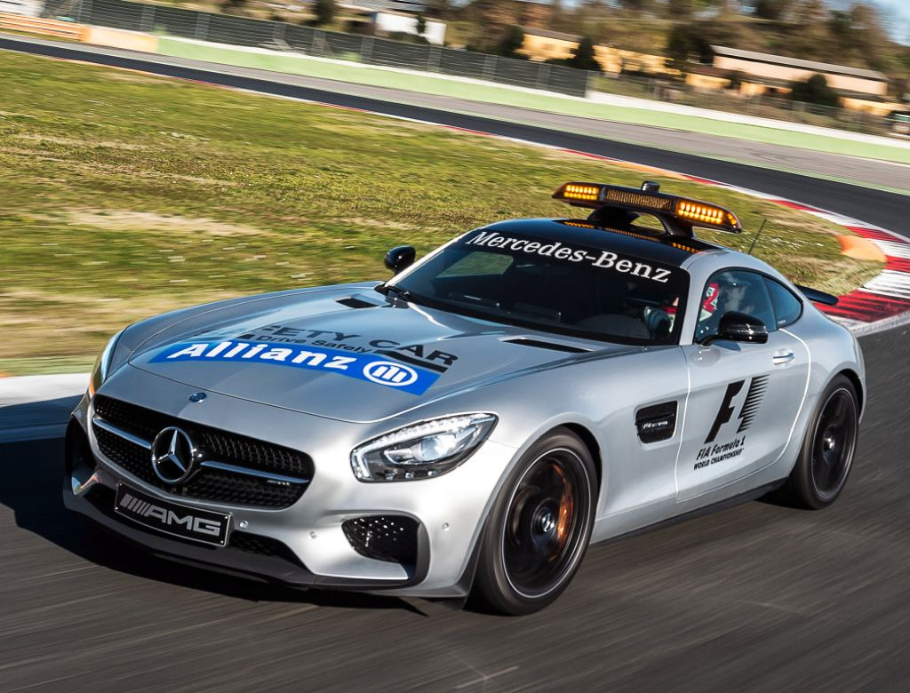 2019 Mercedes Benz AMG GT S F1 Safety Car photo - 1