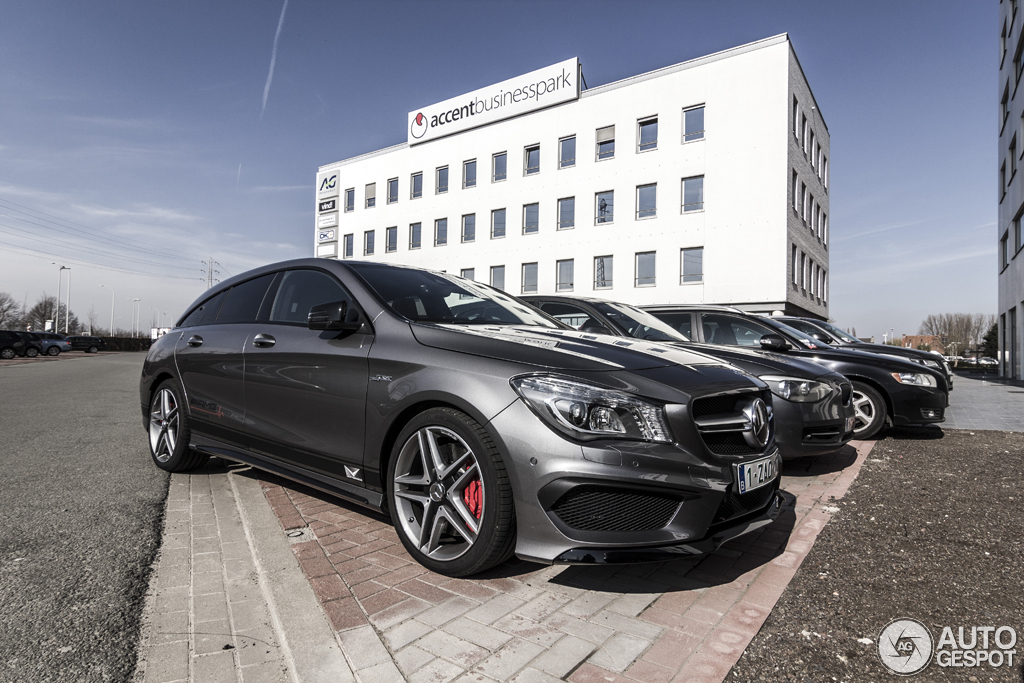 2019 Mercedes Benz CLA45 AMG Shooting Brake photo - 6