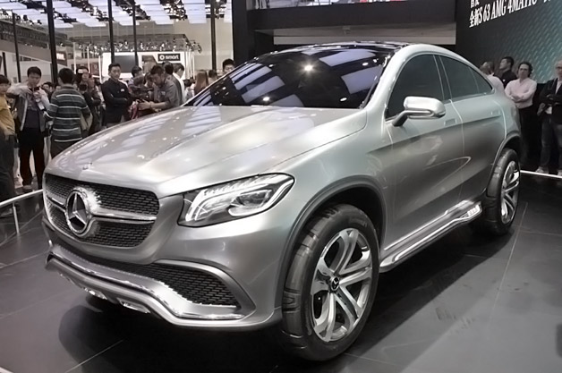 2019 Mercedes Benz Coupe SUV Concept photo - 1