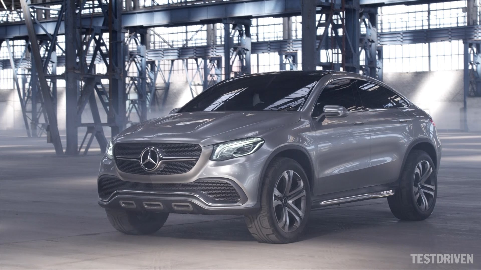 2019 Mercedes Benz Coupe SUV Concept photo - 3