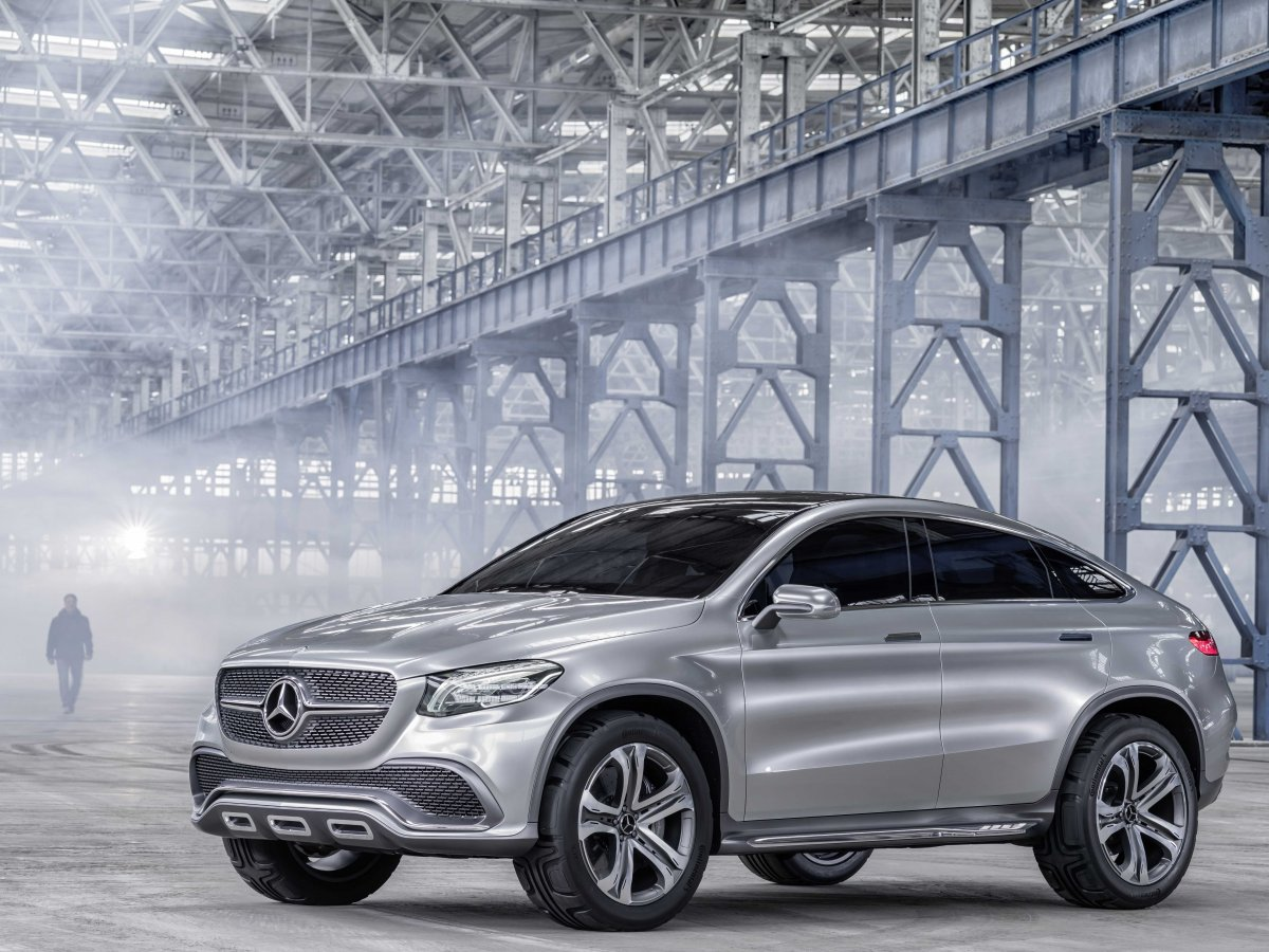 2019 Mercedes Benz Coupe SUV Concept photo - 6