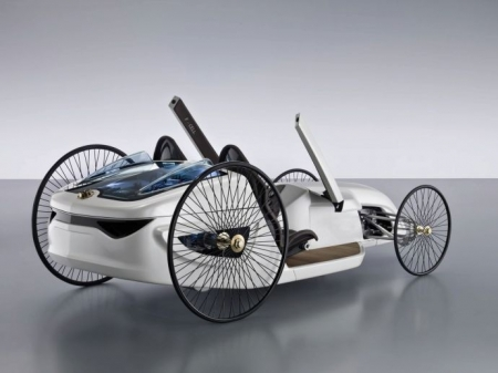 2019 Mercedes Benz F Cell Roadster Concept photo - 3