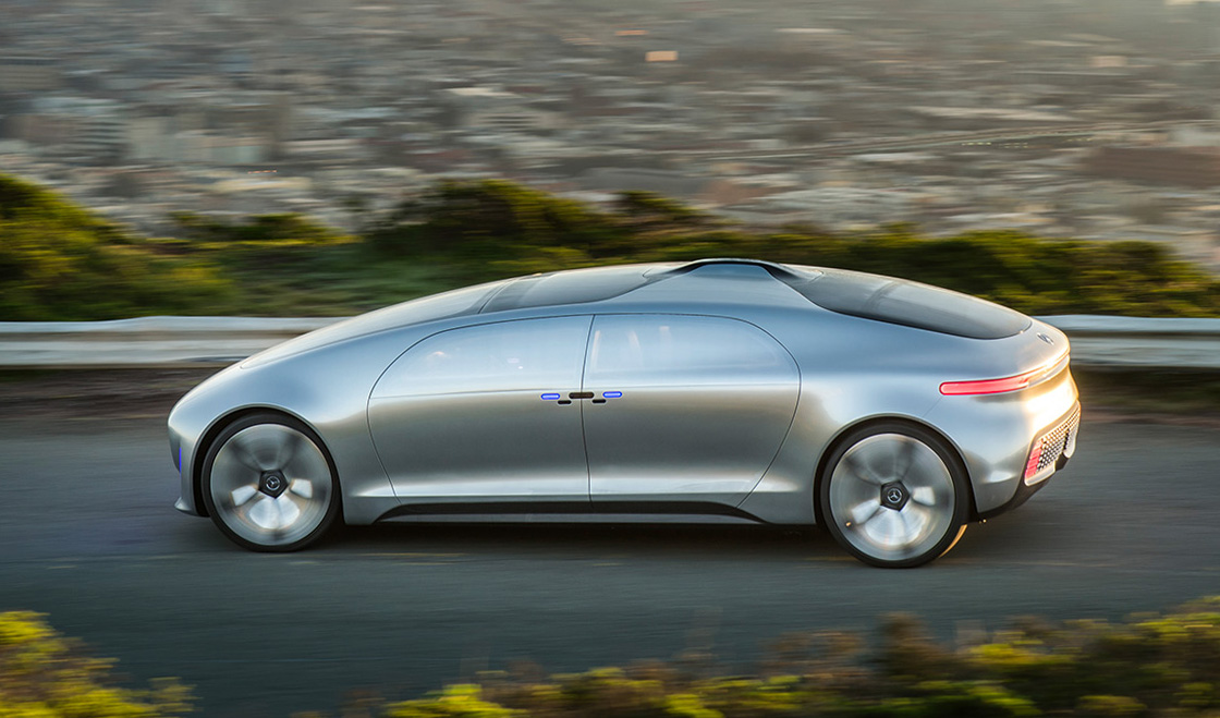 2019 Mercedes Benz F015 Luxury in Motion Concept photo - 3
