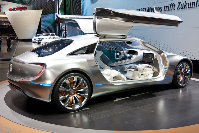 2019 Mercedes Benz F125 Concept photo - 2