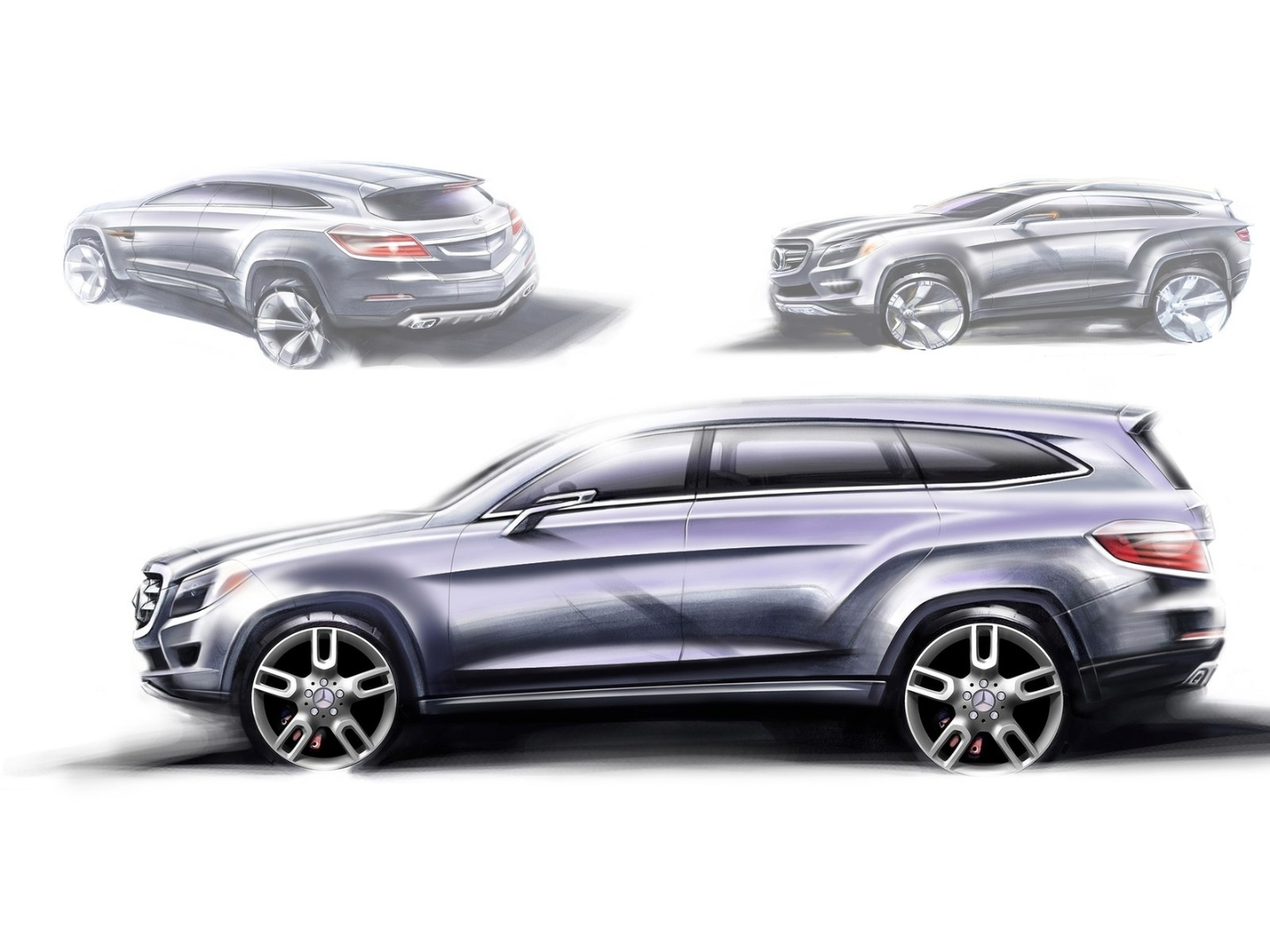 2019 Mercedes Benz GL550 photo - 1