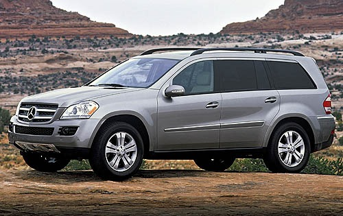 2019 Mercedes Benz GL550 photo - 3