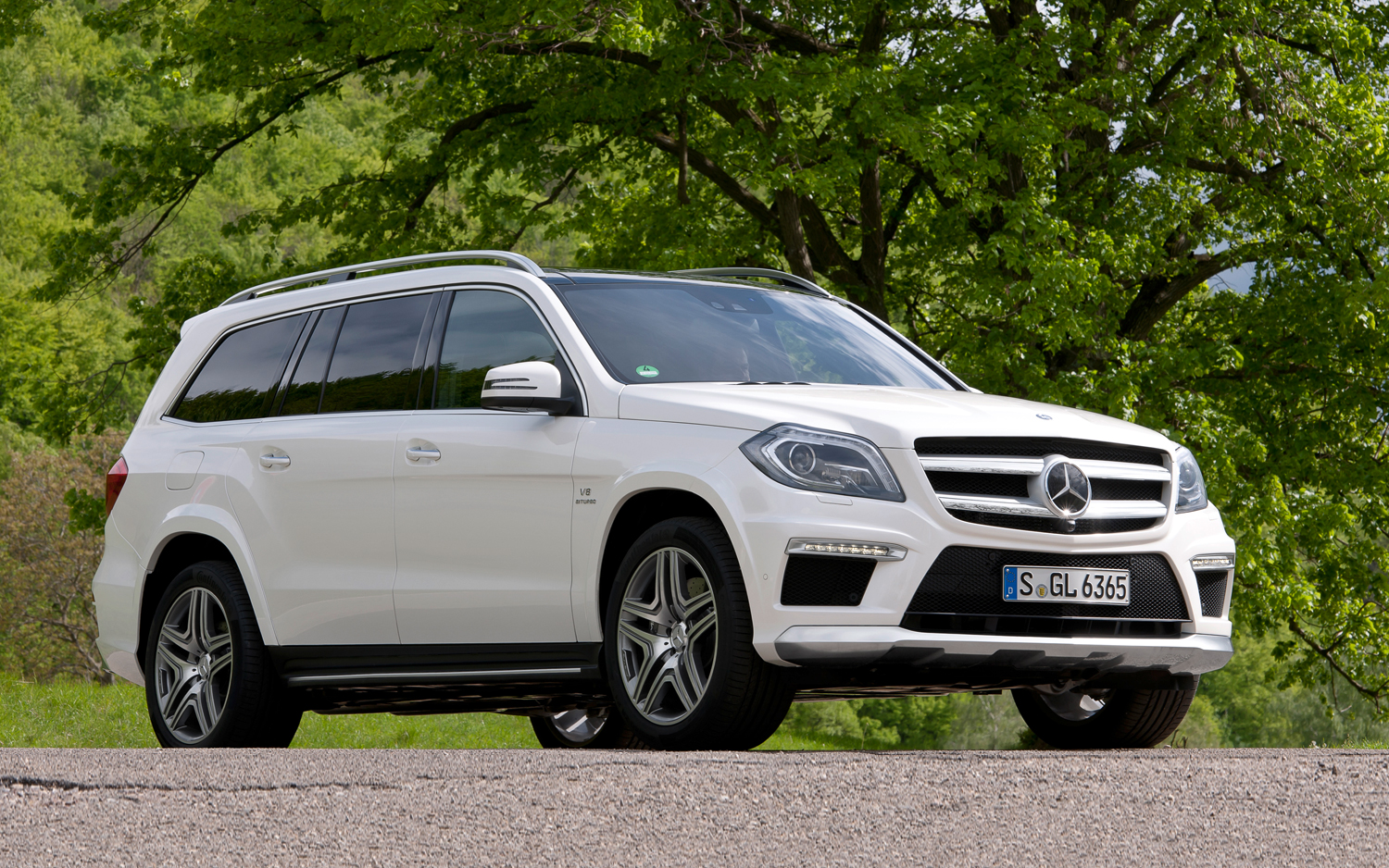 2019 Mercedes Benz GL550 photo - 6