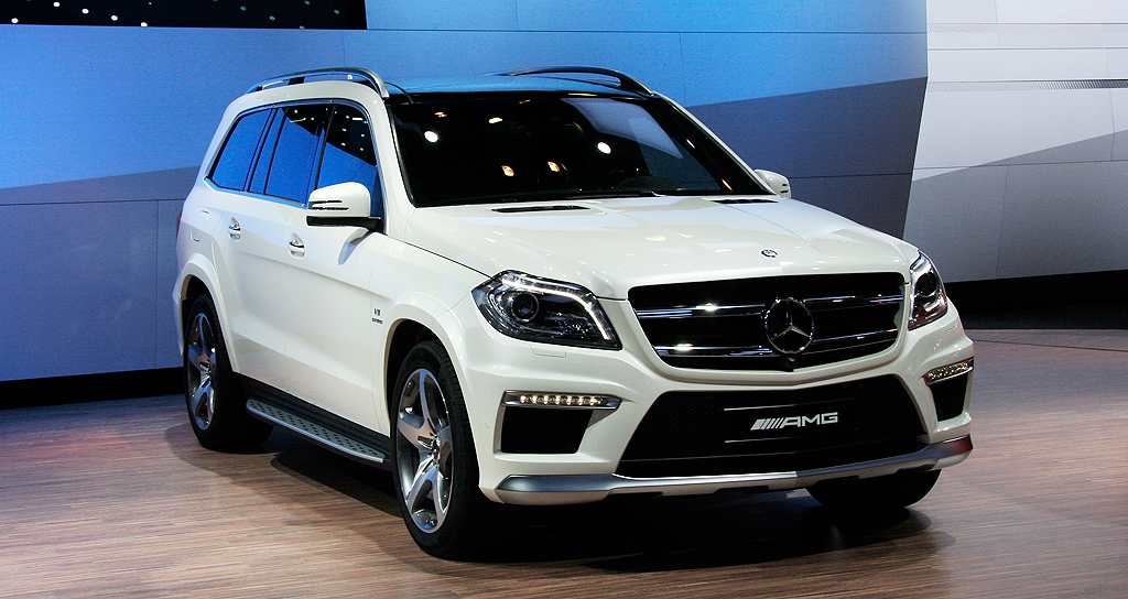 2019 Mercedes Benz GL63 AMG photo - 5