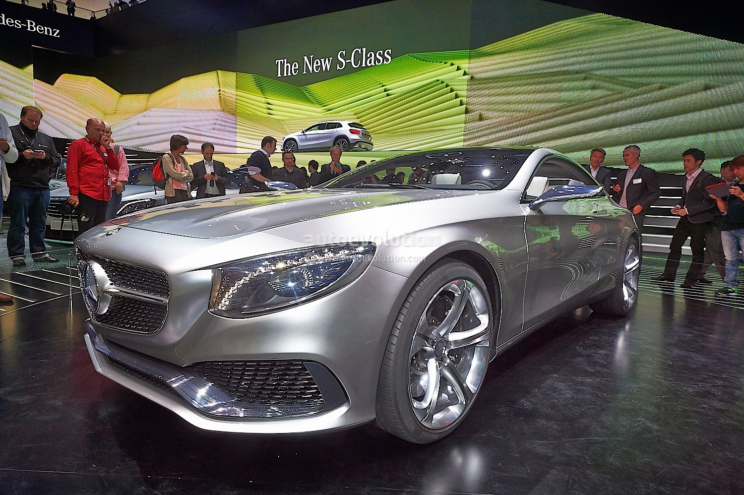 2019 Mercedes Benz S Class Coupe Concept photo - 1