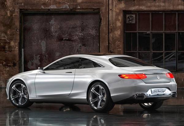 2019 Mercedes Benz S Class Coupe Concept photo - 4