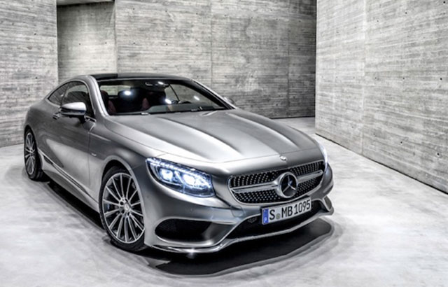 2019 Mercedes Benz S550 Coupe photo - 1