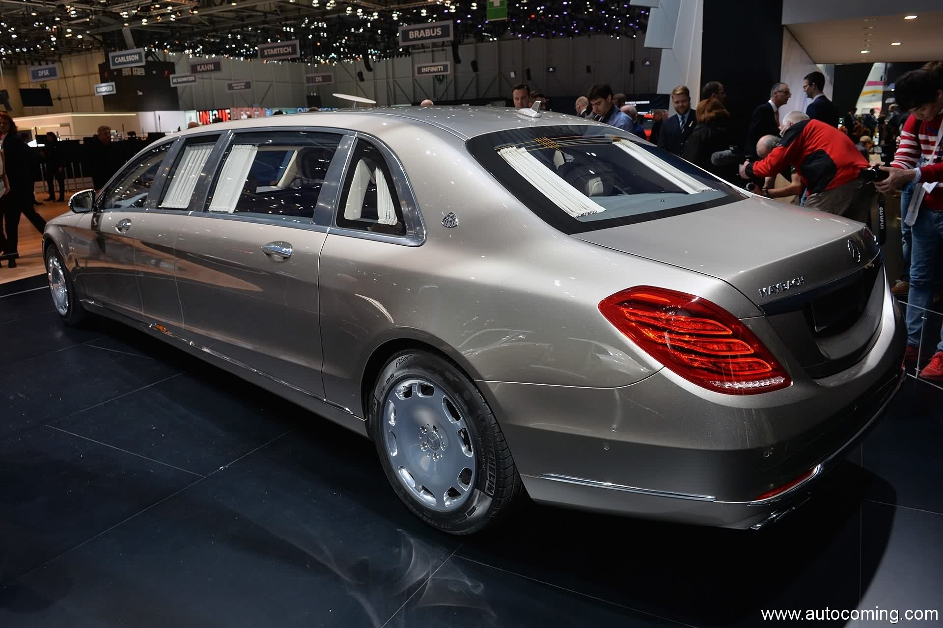 2019 Mercedes Benz S600 Pullman Maybach photo - 4