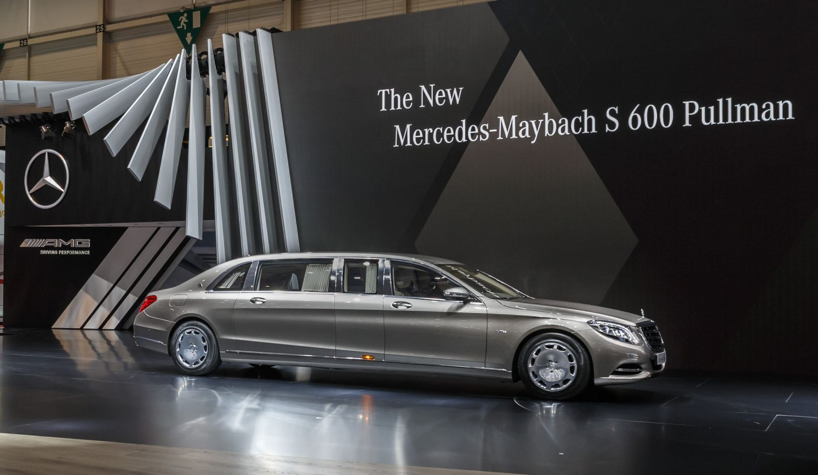 2019 Mercedes Benz S600 Pullman Maybach photo - 5