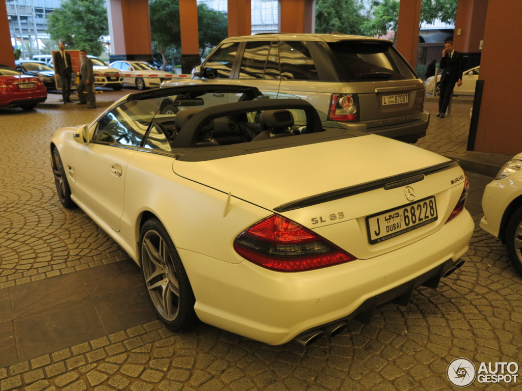 2019 Mercedes Benz SL 63 AMG Edition IWC photo - 3