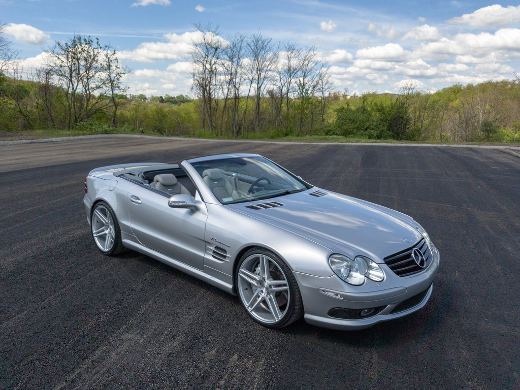 2019 Mercedes Benz SL55 AMG photo - 6