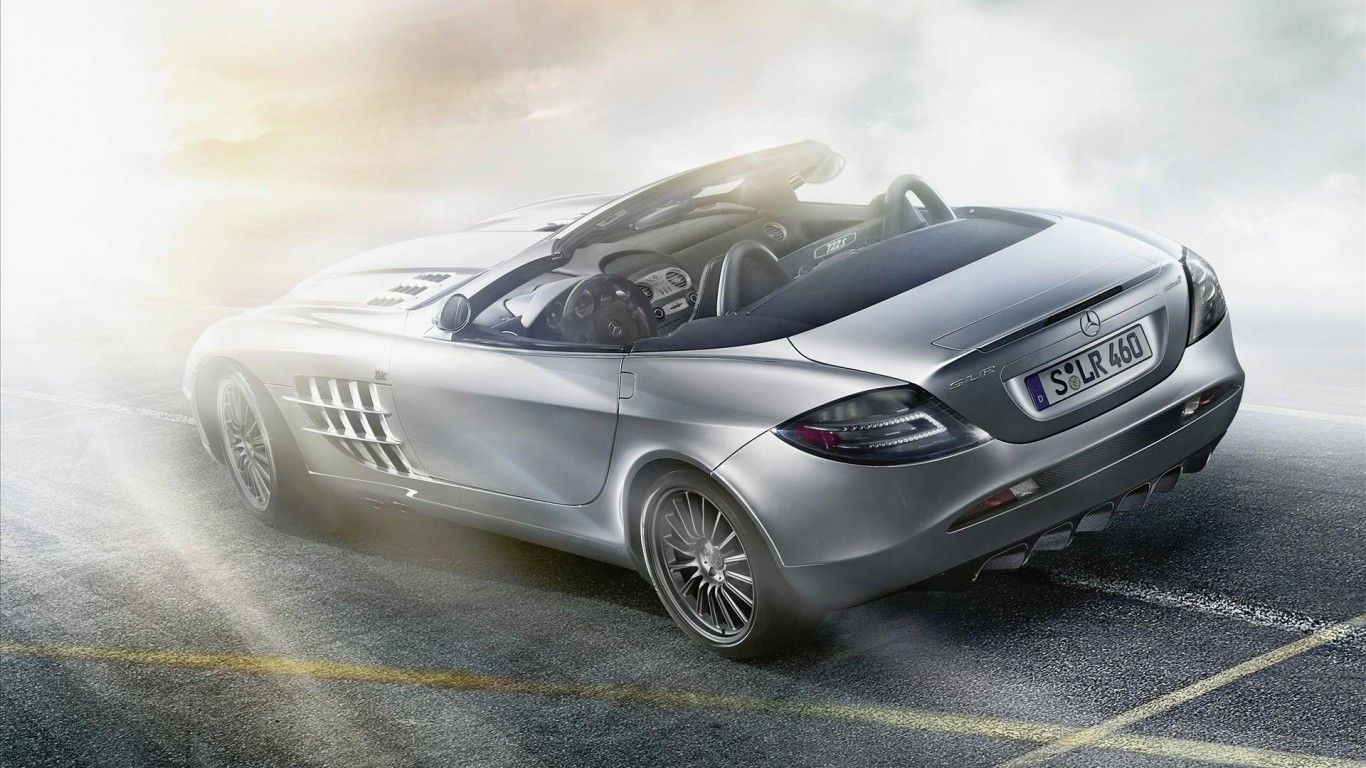 2019 Mercedes Benz SLR McLaren Roadster photo - 5