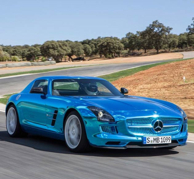 2019 Mercedes Benz SLS AMG Coupe Electric Drive