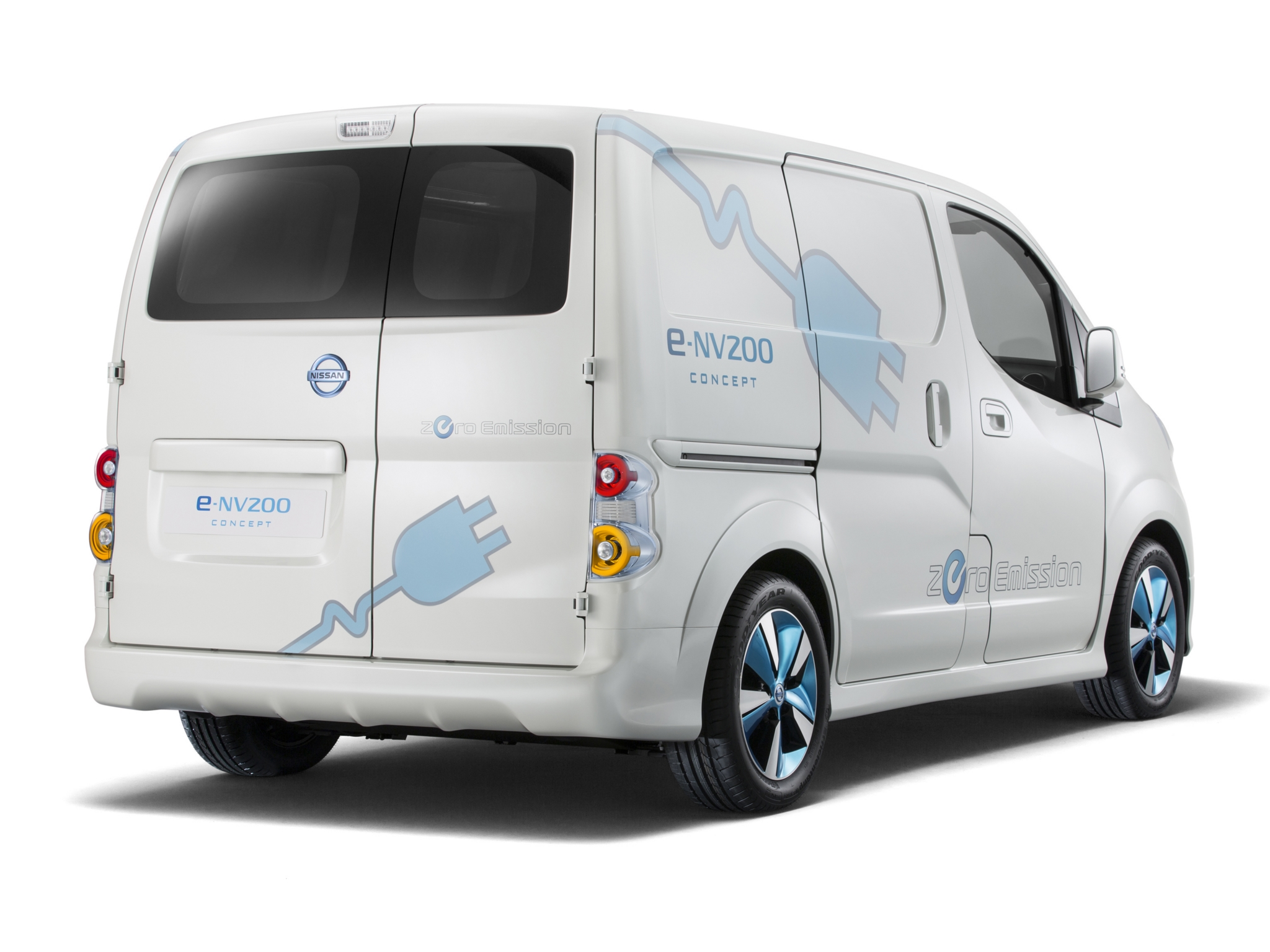 2019 Nissan e NV200 Concept photo - 4