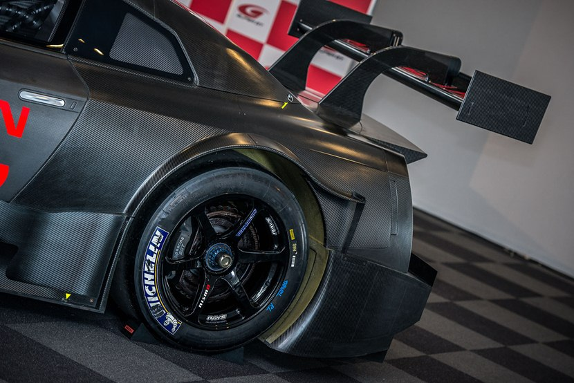 2019 Nissan GT R GT500 Race car photo - 4