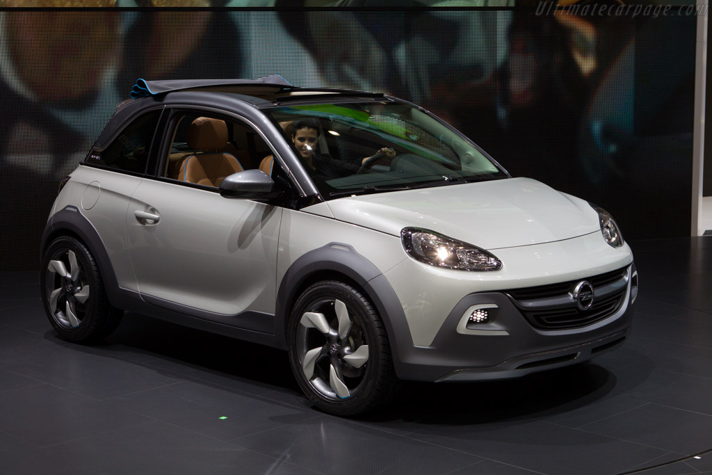 2019 Opel Adam Rocks Concept photo - 2