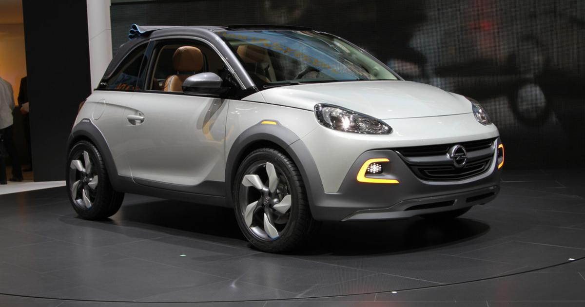 2019 Opel Adam Rocks Concept photo - 4