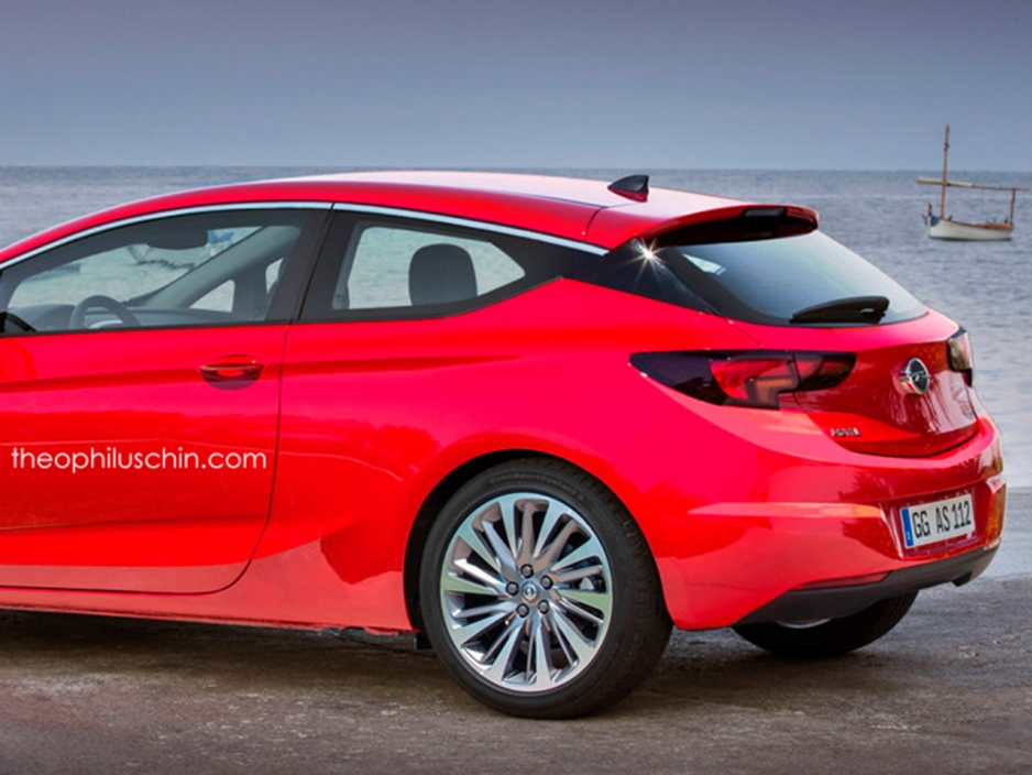 2019 Opel Astra GTC with Panoramic Roof photo - 1