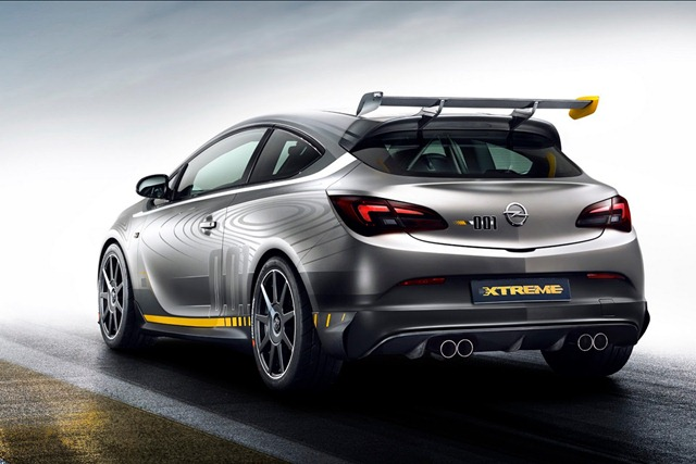 2019 Opel Astra High Performance Concept photo - 1