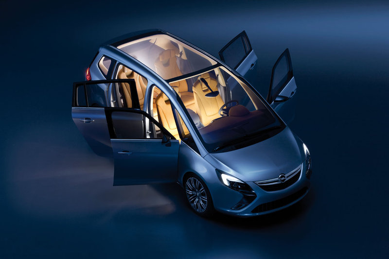 2019 Opel Zafira Tourer Concept photo - 3
