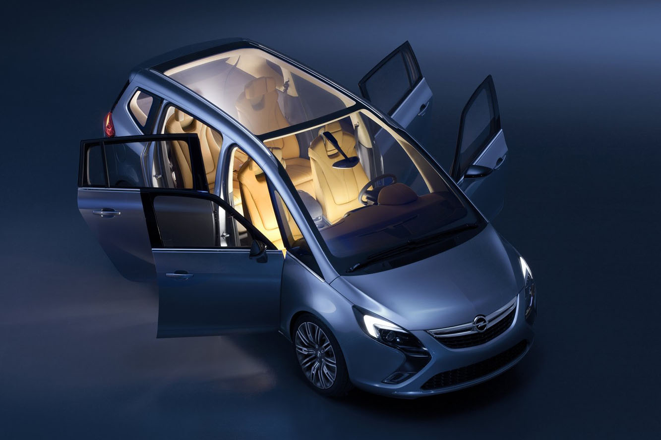 2019 Opel Zafira Tourer Concept photo - 4