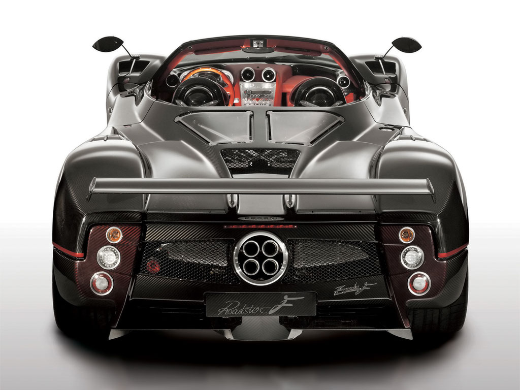 2019 Pagani Zonda Roadster F photo - 3