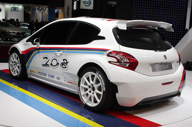 2019 Peugeot 208 R5 Rally car photo - 1