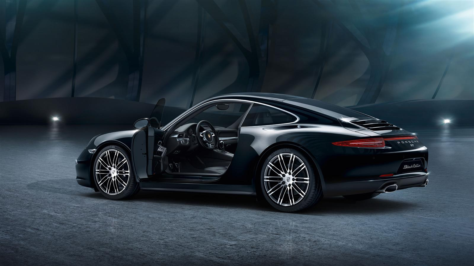 2019 Porsche 911 Black Edition photo - 3